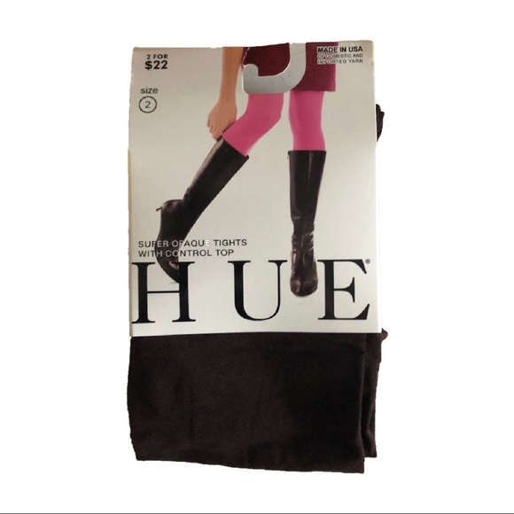 be5708773657a HUE Accessories | Opaque Tights | Poshmark
